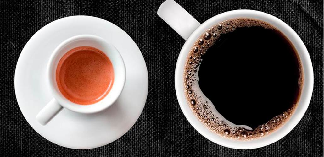 Две чашки с кофе