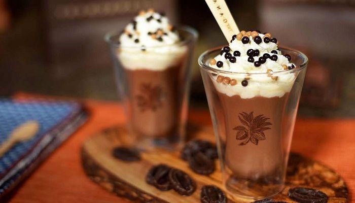 Напиток какао, фото