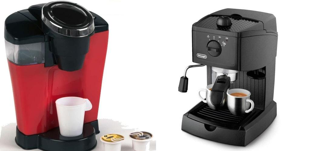 Капсульная или рожковая кофеварка, фото