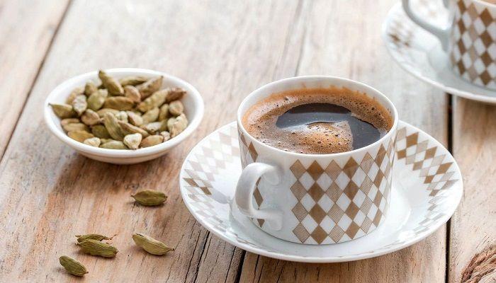 Кардамон в кофе, фото