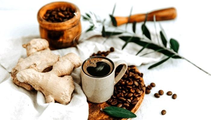 Имбирный кофе, фото