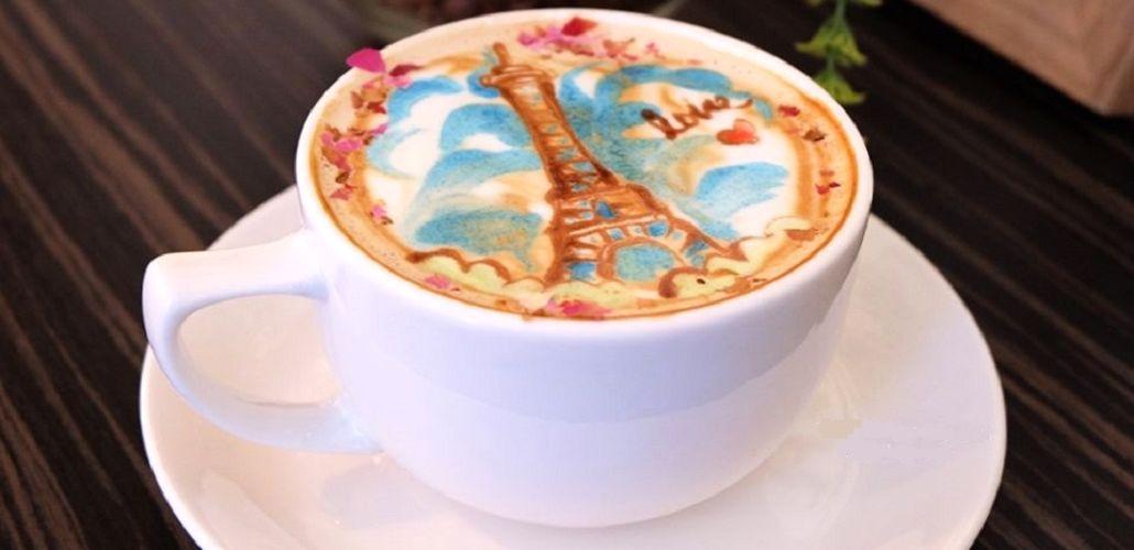 Кофе с молоком, фото