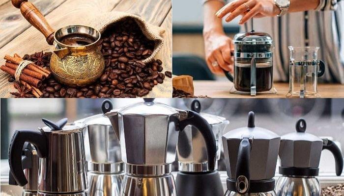 Простые кофеварки, фото
