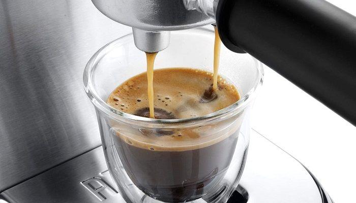 Рожковая кофеварка, фото