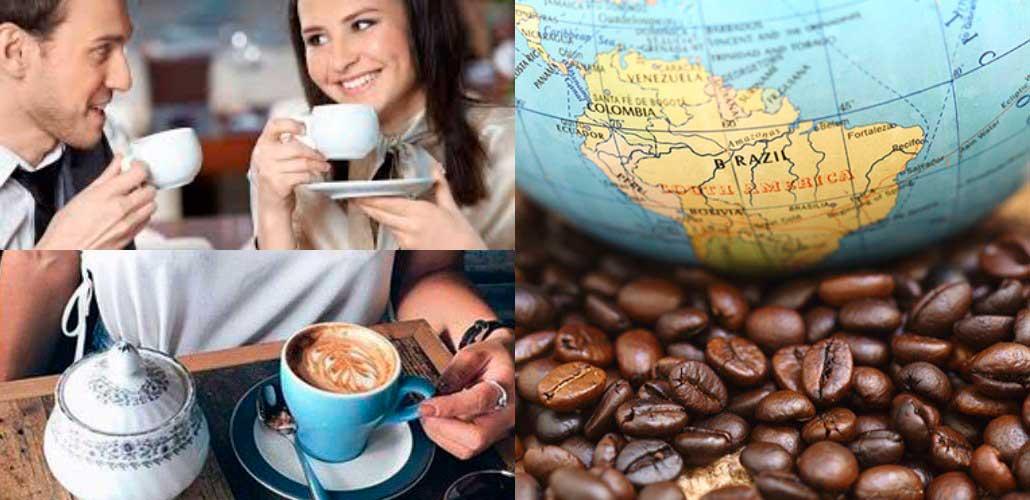 Кофе по всему земному шару