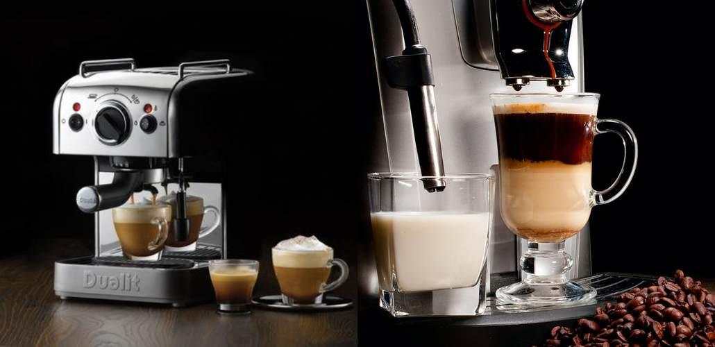 Виды кофемашин: какими они бывают и чем отличаются друг от друга