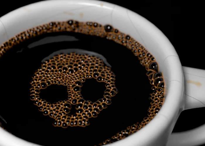 Чашка с черепом