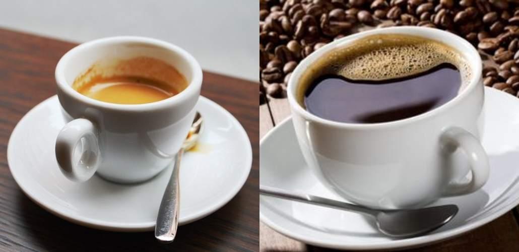 Два вида кофе