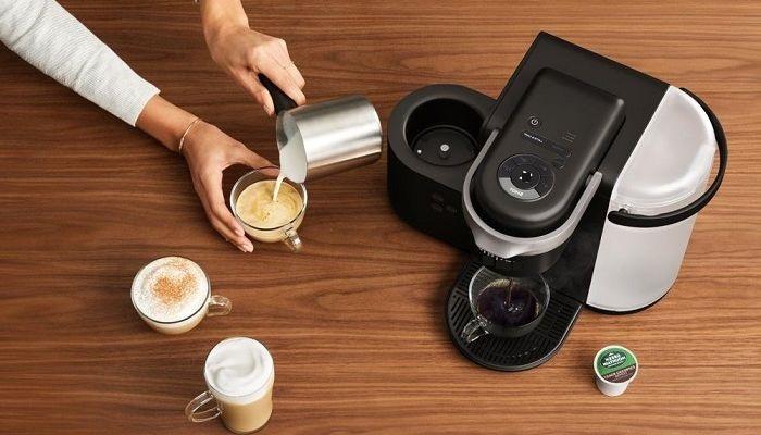 Домашняя капсульная кофемашина, фото