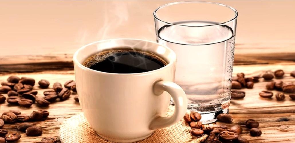 Кофе с водой, фото