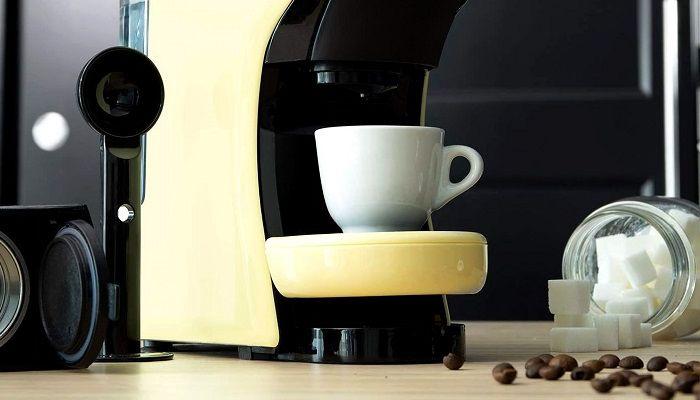 Кофемашина дома, фото
