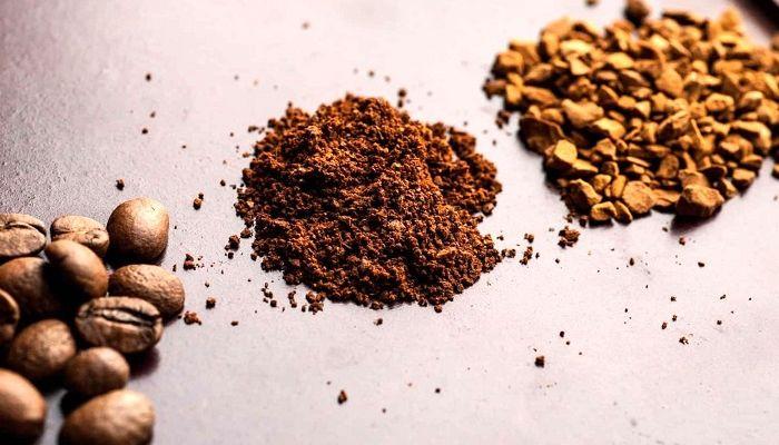Молотый и растворимый кофе