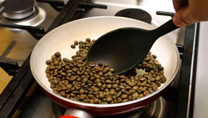Обжарка кофе, фото
