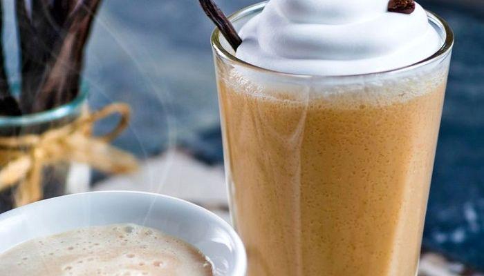 Раф кофе с ванилью, фото