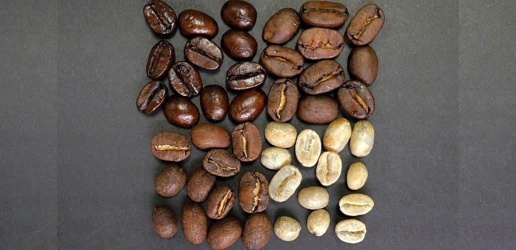 Степень обжарки кофе, фото