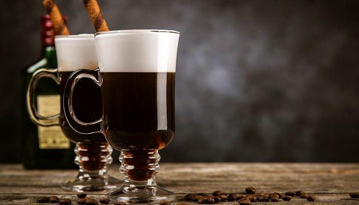 Алкоголь и кофе, фото