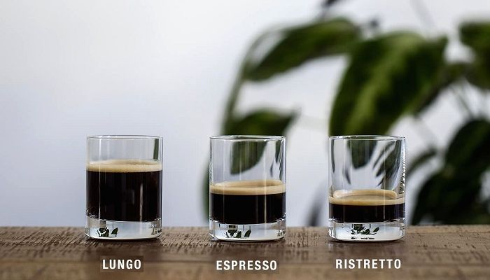 Эспрессо, Ристретто и Лунго, фото