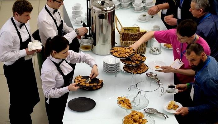 Обслуживание кофе - брейков, фото