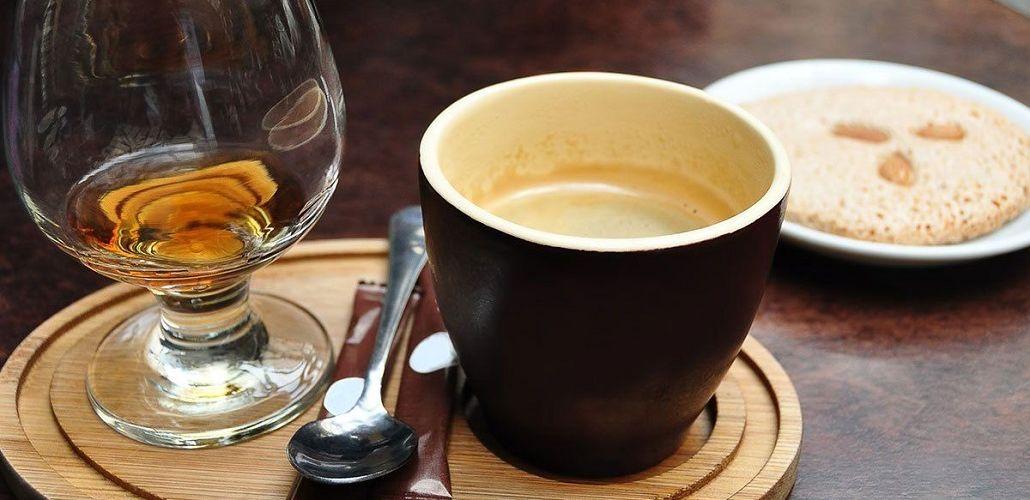 Кофе и алкоголь, фото