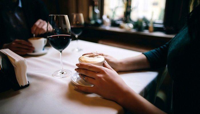 Кофе и вино, фото