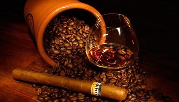Кофе с алкоголем, фото