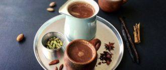 Как сварить какао из порошка