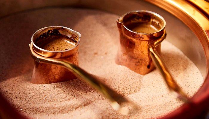 Варка кофе в турке, фото