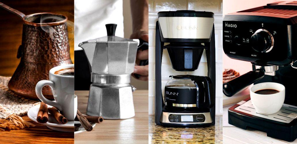 Турка или кофеварка – классика или новые технологии