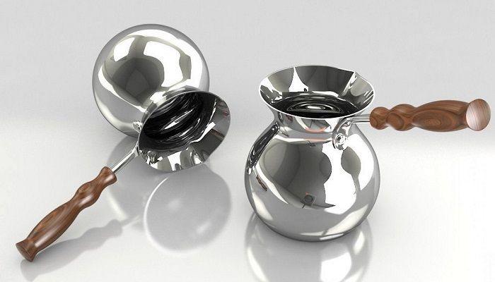 Турка  из серебра, фото