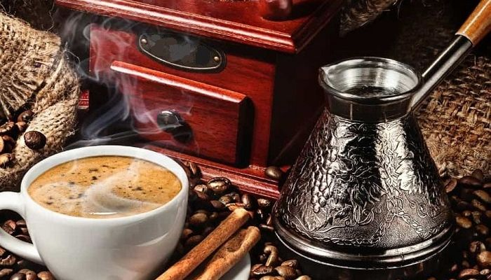 Турка и кофе, фото