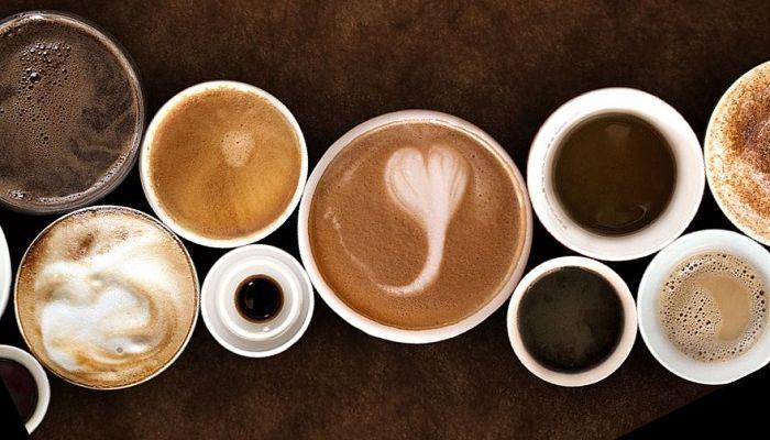 Чашки с кофейными напитками, фото