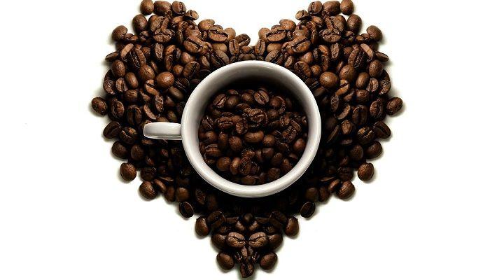 Кофе и сердце, фото