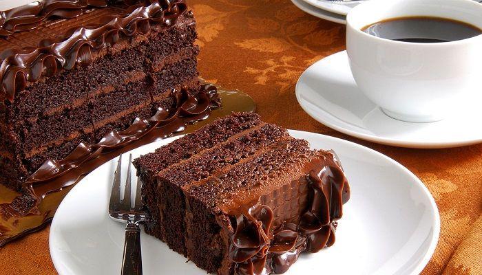 Кофе с десертом, фото