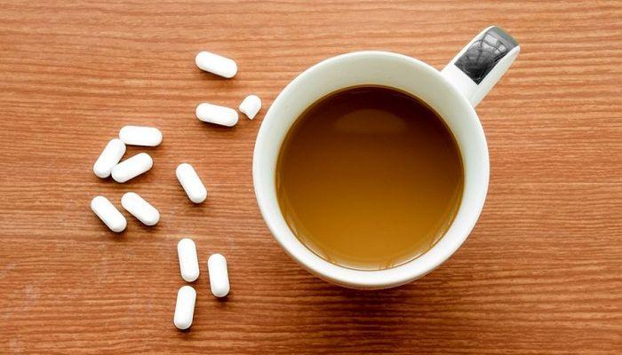 Кофе и таблетки, фото