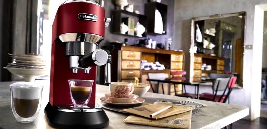Рожковая кофеварка с капучинатором, фото
