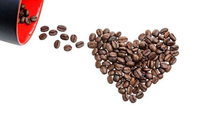 Сердце и кофе, фото