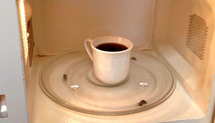 Подогретый кофе, фото